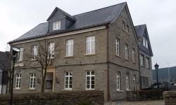 Schieferdach - Historisches Rathaus Halleberg